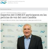 Candela CONICET